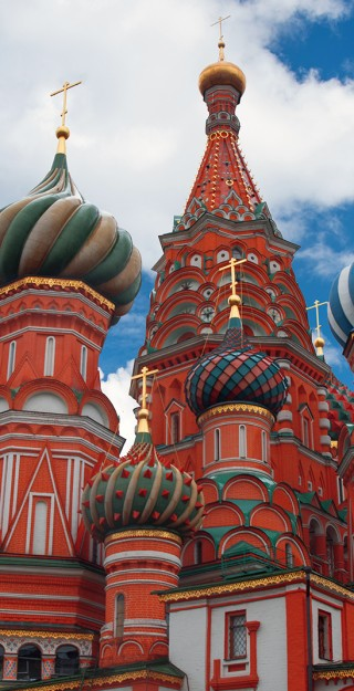 Saint Basil Cathedral.